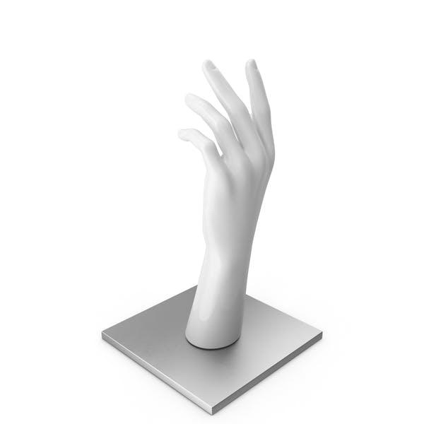 Thumbnail for Weiße Hand auf Metallbasis
