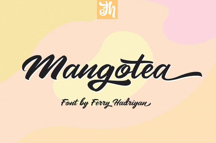 Thumbnail for Mangotea - Script Font