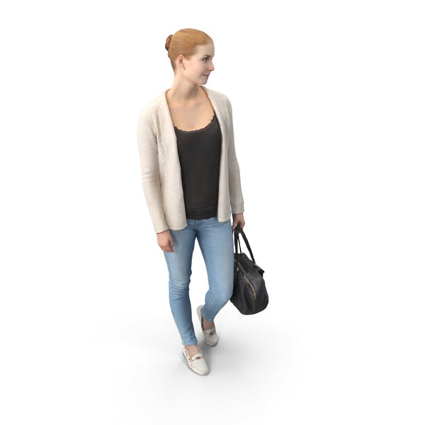 Casual Woman Posed
