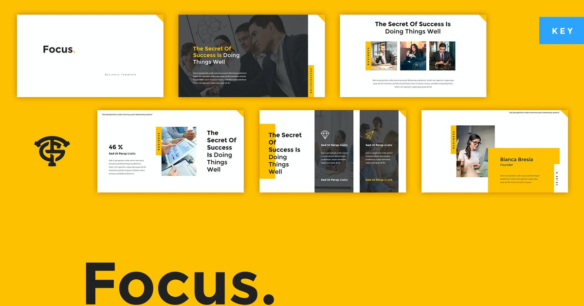 Download Focus Business - Keynote by graptailtype