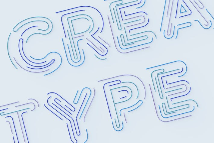 Linearo - Color SVG Font
