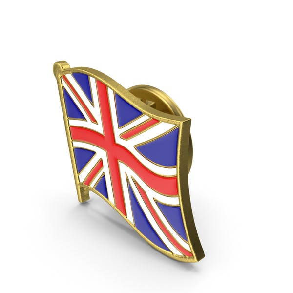 Thumbnail for UK Great Britain Flag Lapel Pin