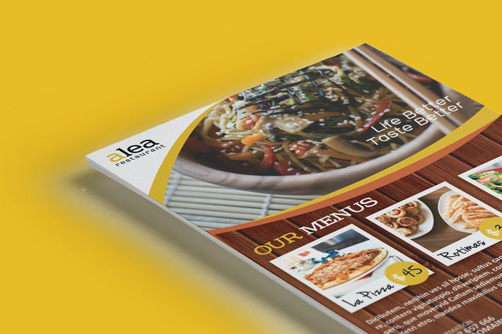 Thumbnail for Alea Restaurant Flyer