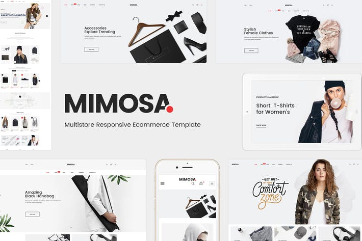 Thumbnail for Mimosa - Responsivo Fashion Prestashop 1.7 Tema