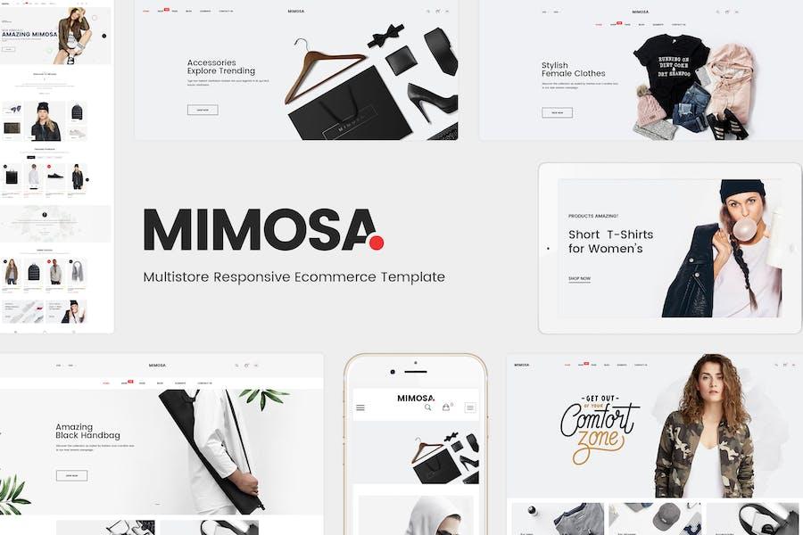 Mimosa - Responsive Fashion Prestashop 1.7 Theme