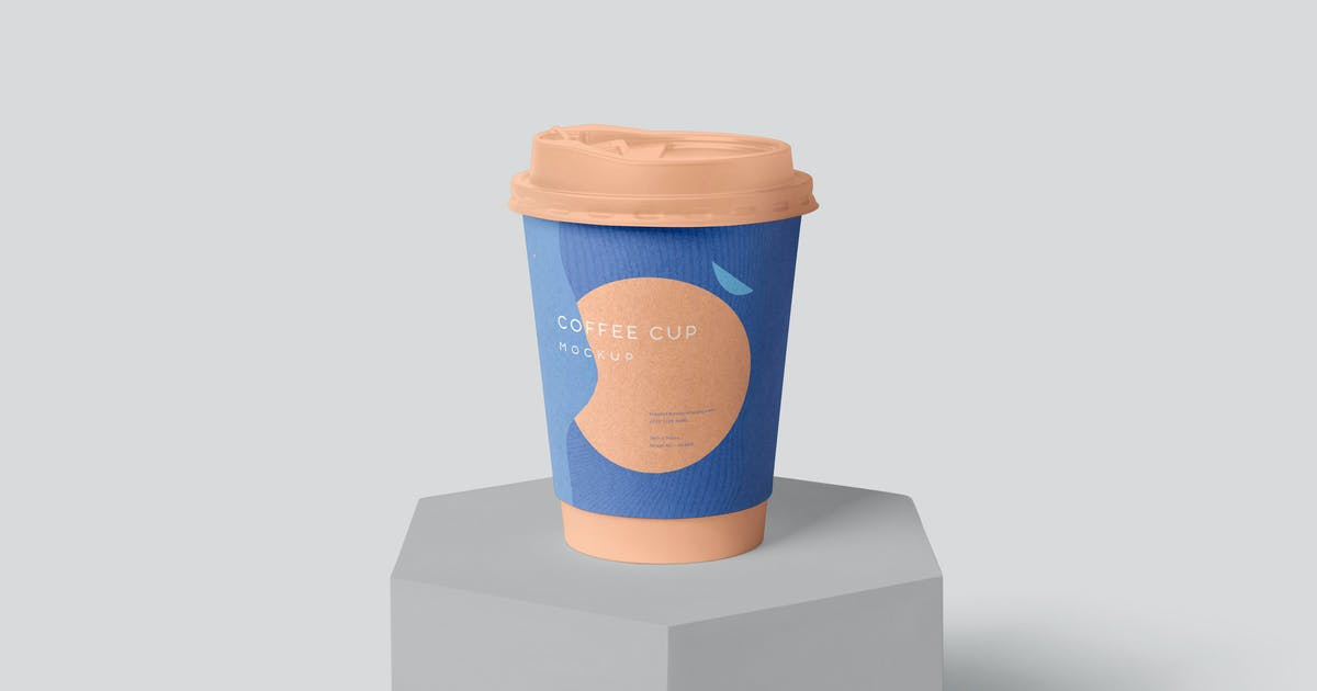Download Disposable Coffee Cup Packaging Sleeve Mockups by GfxFoundry