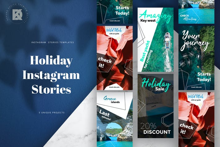 Thumbnail for Holiday Instagram Stories