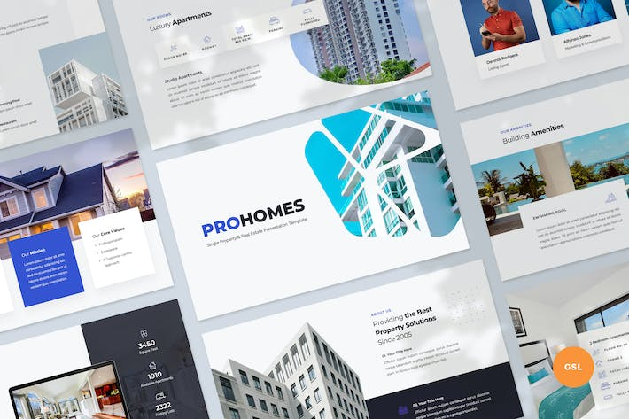 Property & Real Estate Slides Template