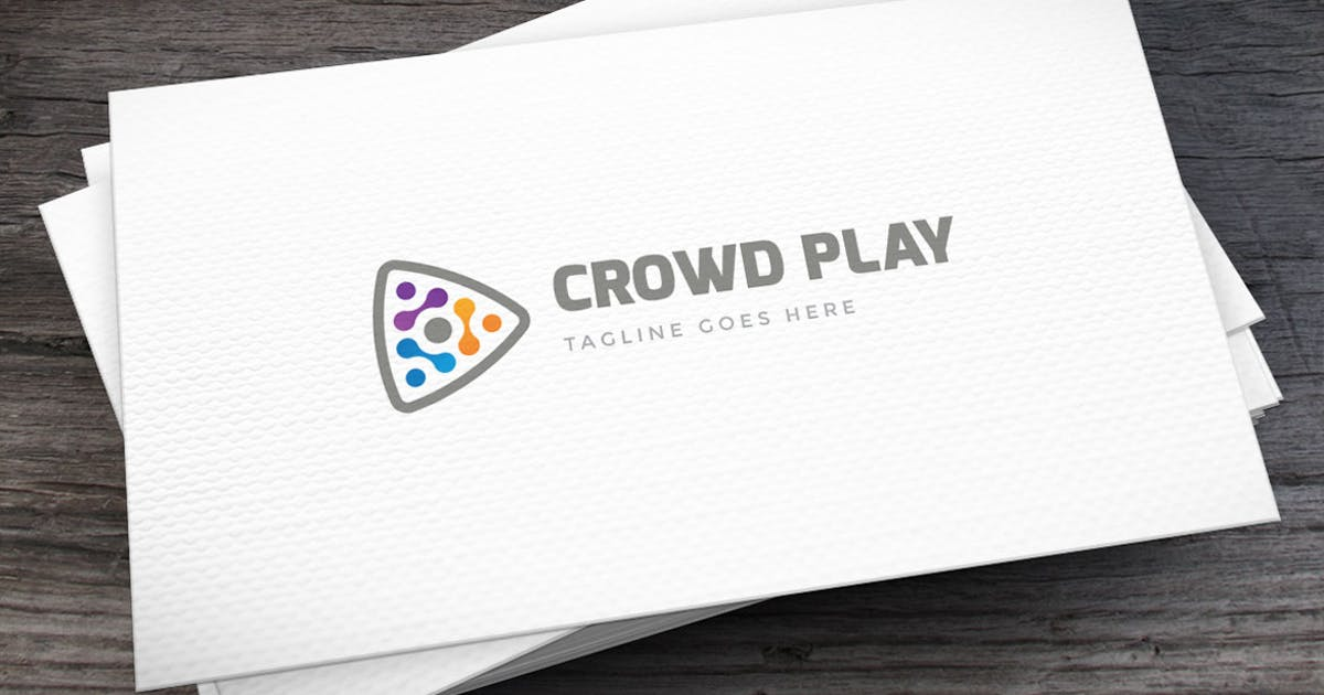 Download Crowd Play Logo Template by empativo