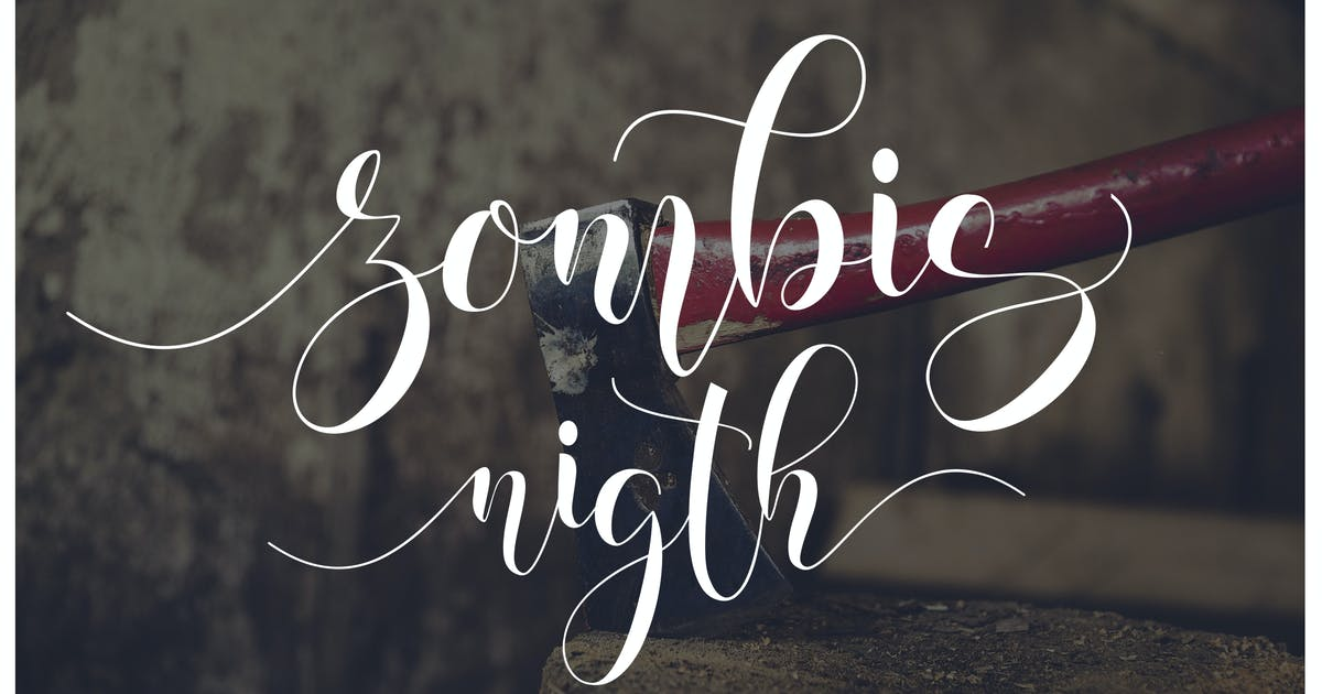 Download Zombis Night by moriztype