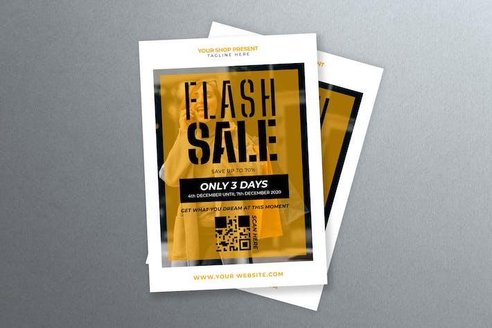 Flash Sale Flyer