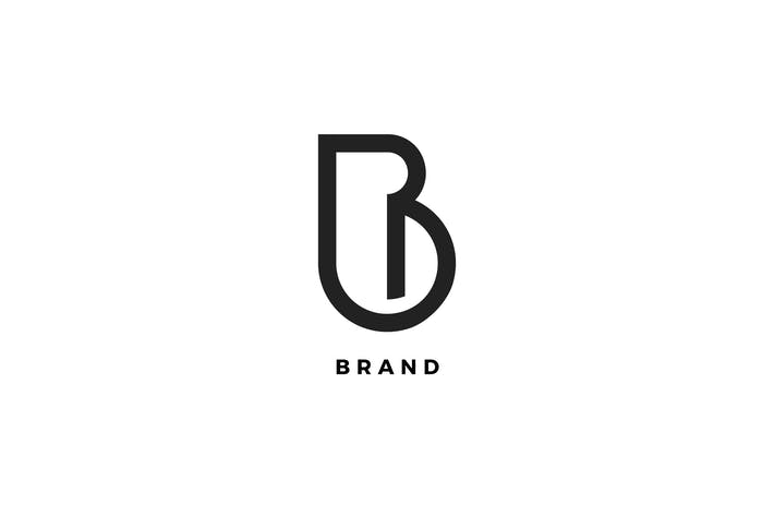 Thumbnail for B Letter Brand Logo Template
