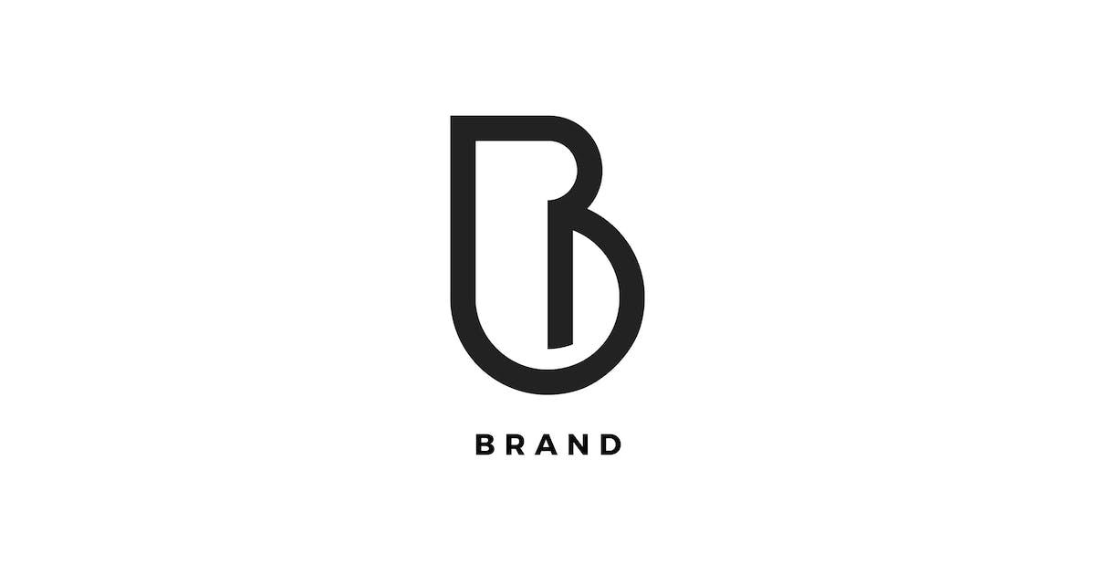 B Letter Brand Logo Template by Pixasquare