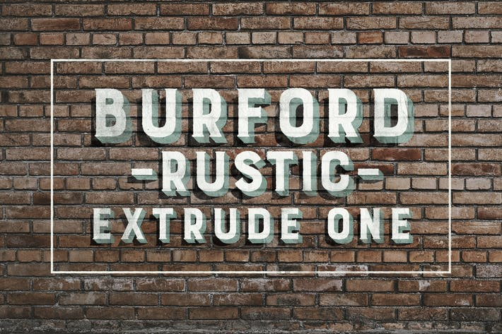 Thumbnail for Burford Rustic Extrude One
