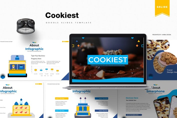 Cookiest | Google Slides Template