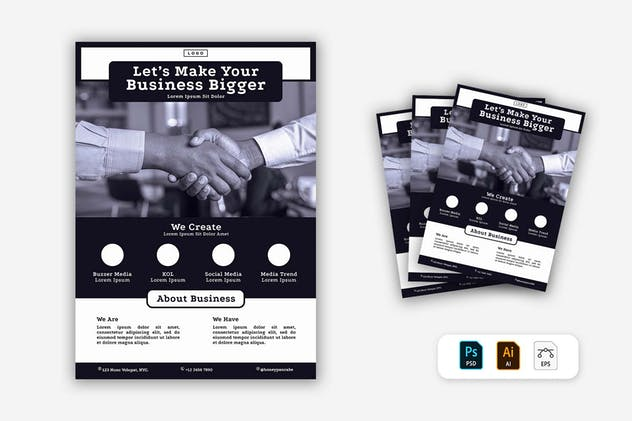 Business Flyer - product preview 1