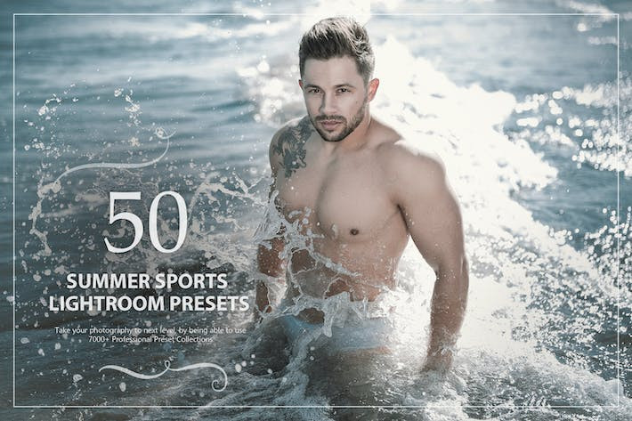 Thumbnail for 50 Summer Sports Lightroom Presets