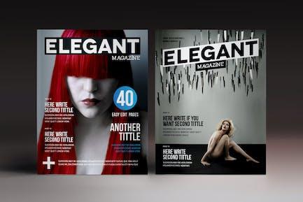Des7gn Magazine Indesign Template