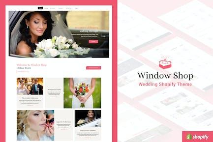 Window Shop - Wedding Shopify Store