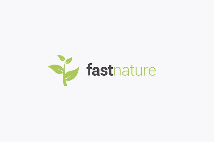 Thumbnail for Nature and Leaves Logo