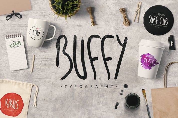 Cover Image For My name is Buffy