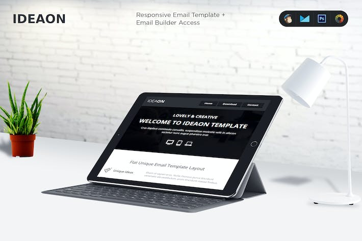 Cover Image For IdeaOn Email Template