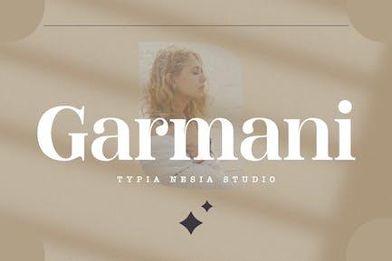 Garmani - Belleza Fantasía Romántica Con serifa Pantalla