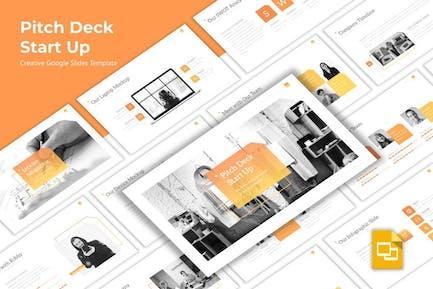 Pitchdeck - Creative Startup Google Slides