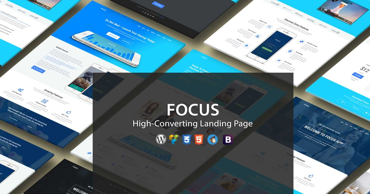 Download Focus High-Converting Landing Page WordPress Theme by Epic-Themes