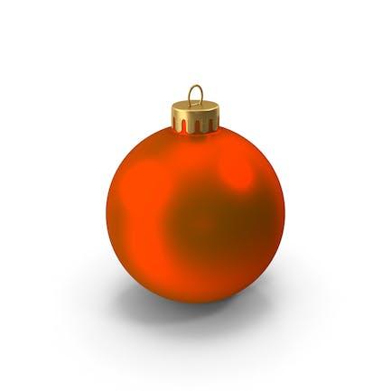 Красный Рождественский орнамент