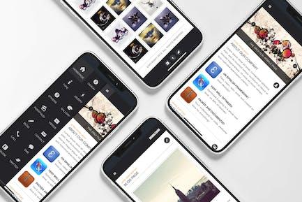 MobileBar | Mobile Website Template