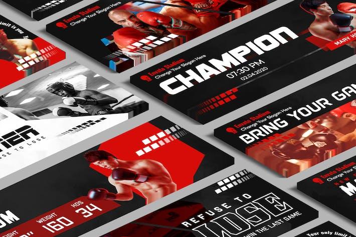 Sport-Website-Schieberegler