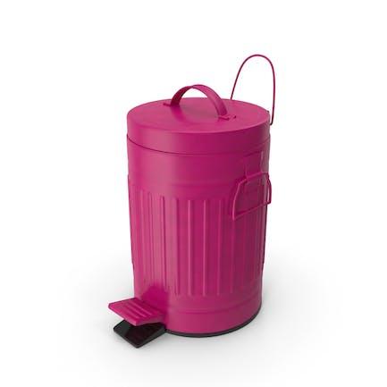 Pedal Trash Bin Purple
