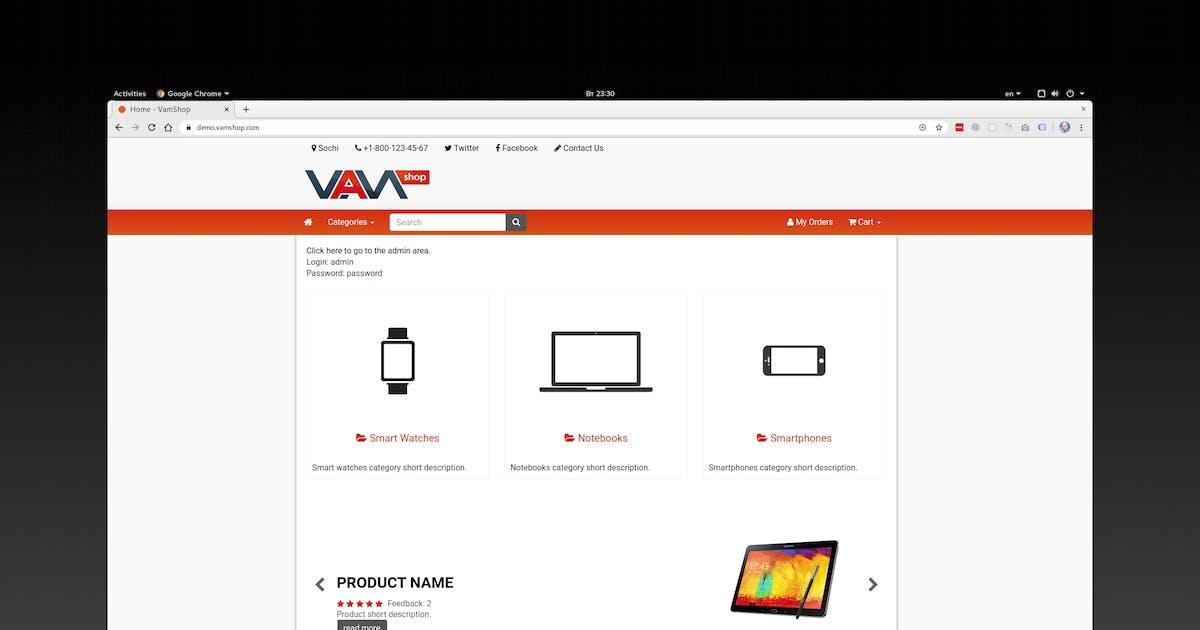 Download VamCart - Start Selling Online by vamshop