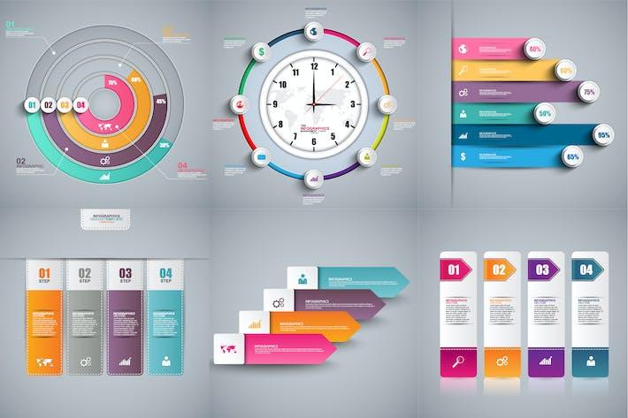 Business 3D Infographics