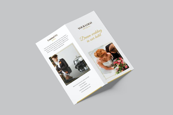 Thumbnail for Brochure – Hotel for Wedding Bi-Fold DL