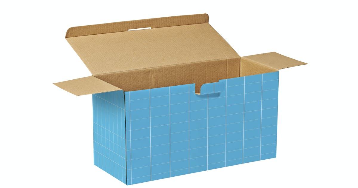 Open Box  Mockup by pbombaert