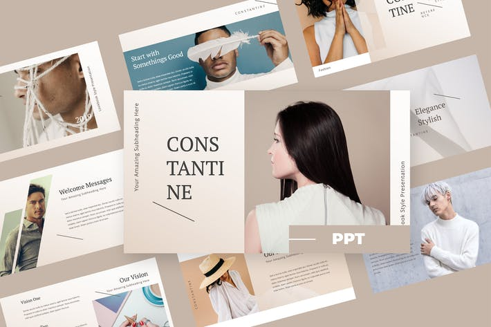 Thumbnail for Constatine - Fashion Powerpoint Presentation