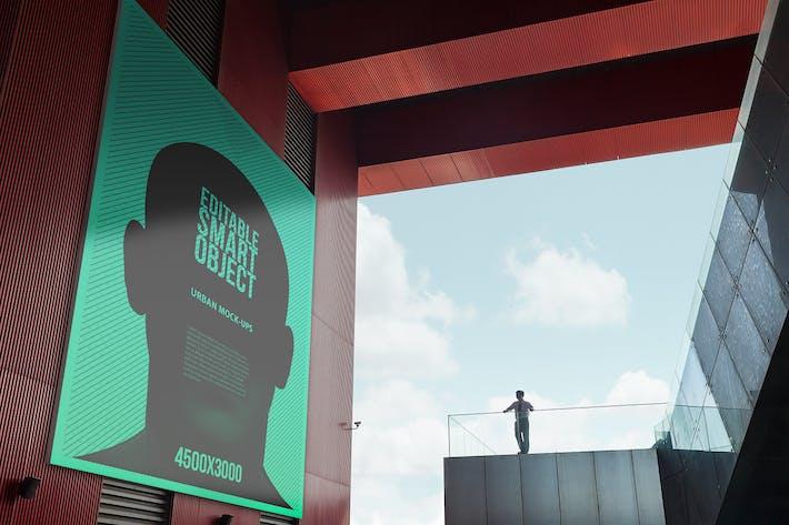 Cover Image For Urban Poster / Billboard Mock-ups - Huge Edition