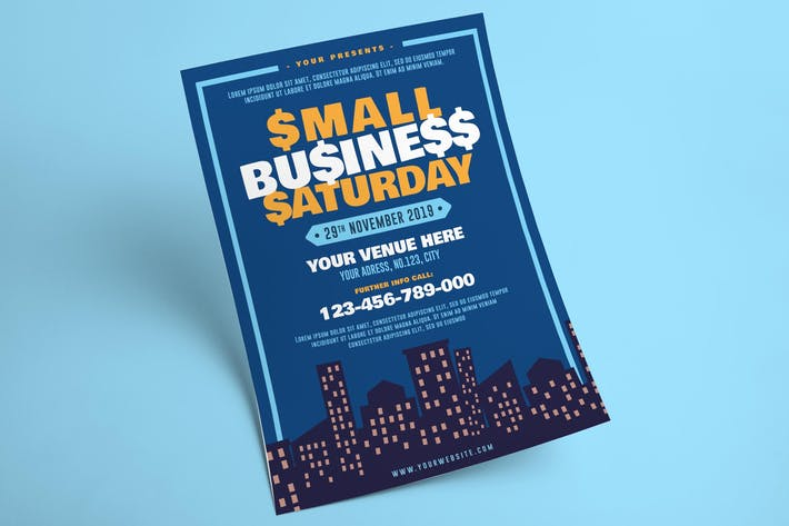 Thumbnail for Small Business Saturday Flyer