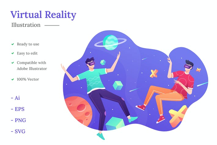 Thumbnail for Virtual Reality Illustration