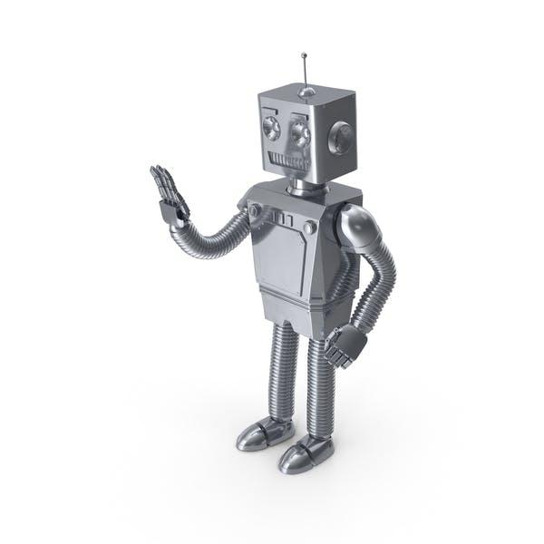 Cover Image for Roboter winken