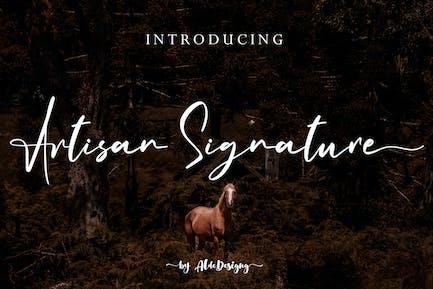 Artisan Signature // Business Signature Style