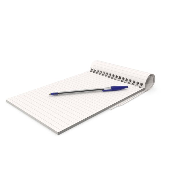 Cover Image for Notepad and Pen