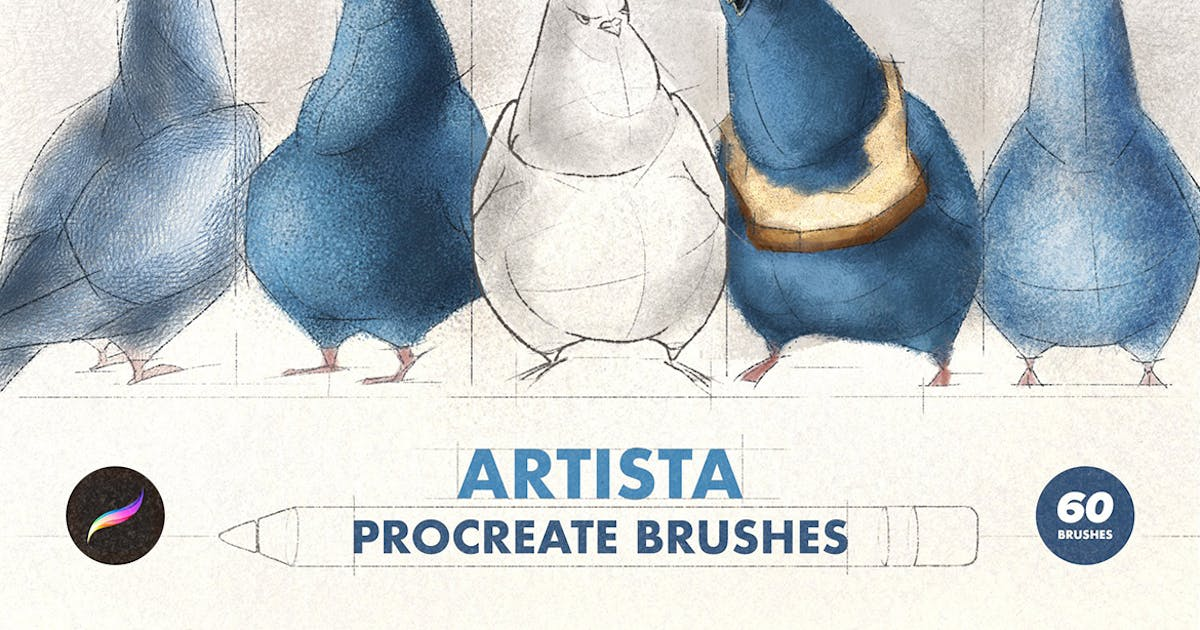 Download Artista Procreate Brushes by pixelbuddha_graphic