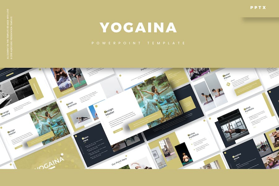 Yogaina - Powerpoint Template