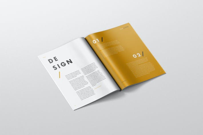 Thumbnail for Magazine Mockup - US Letter 8.5x11 inch