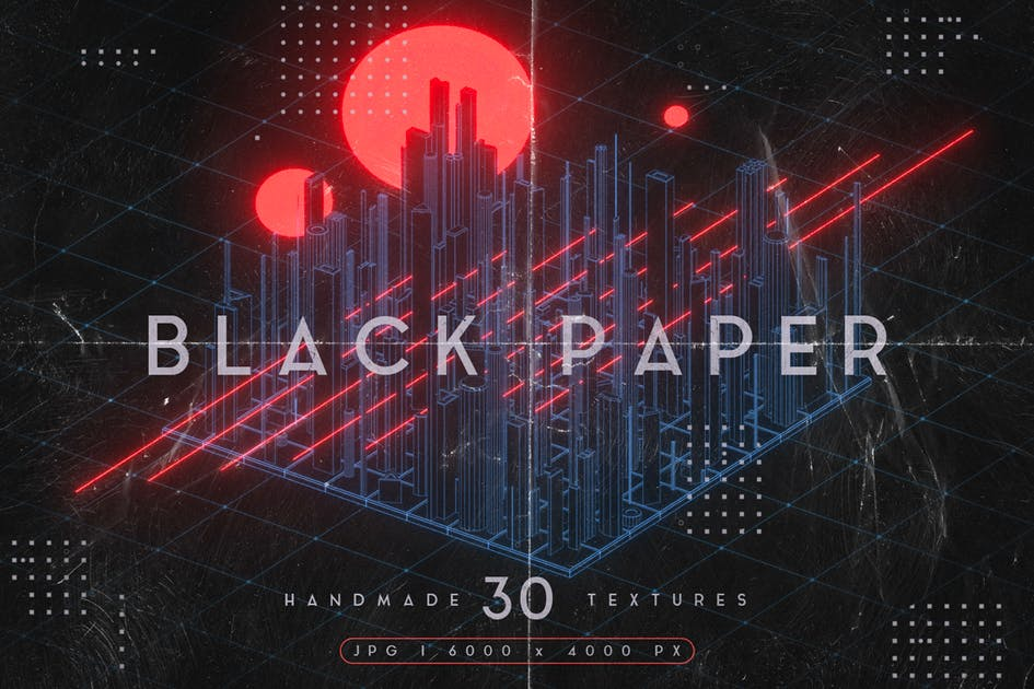 Download Black Paper Textures by MiksKS