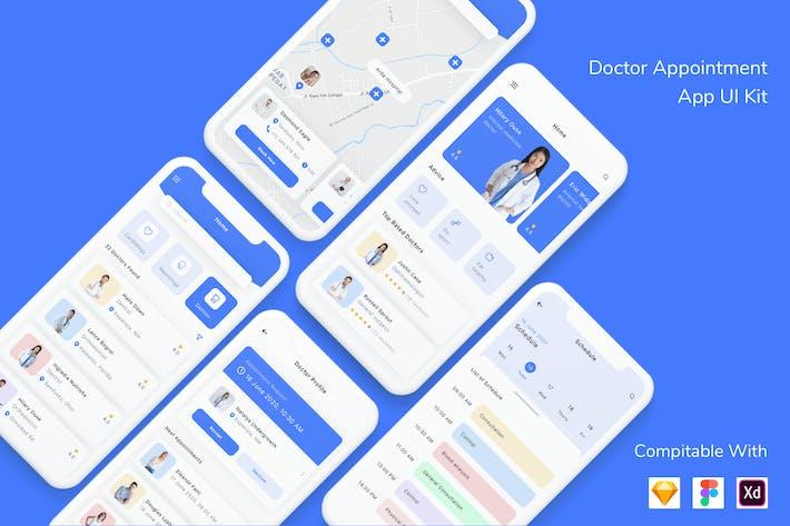 Thumbnail for Arzttermin App UI Kit