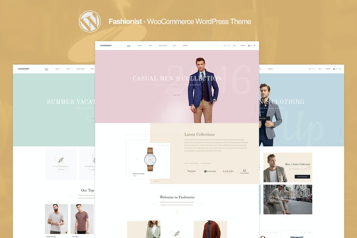 Thumbnail for Fashionist - WooCommerce WordPress Theme